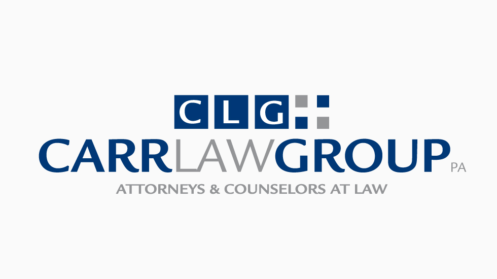 Logo design for Carr Law Group