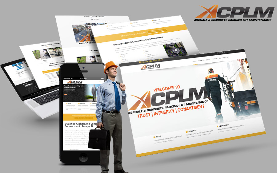 responsive website design acplm tampa