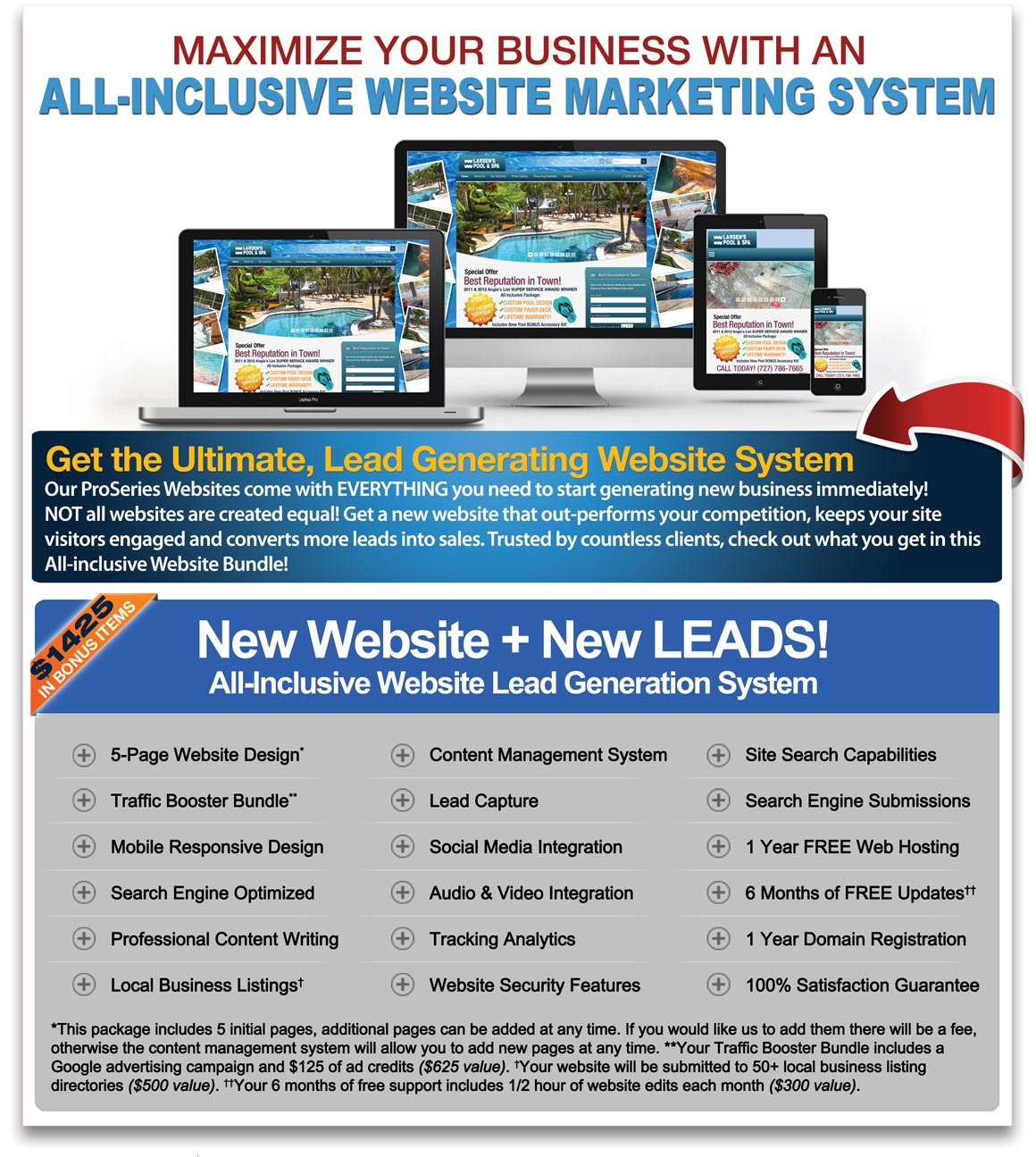 all-inclusive website lead generation bundle